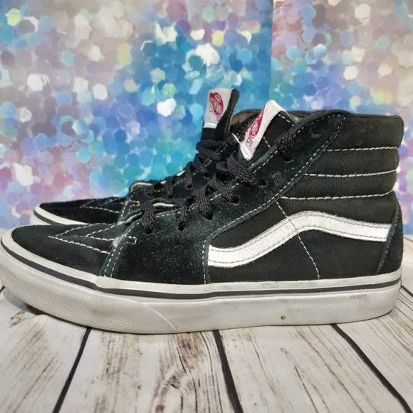 Vans Shoes | Youth 25 Black And White